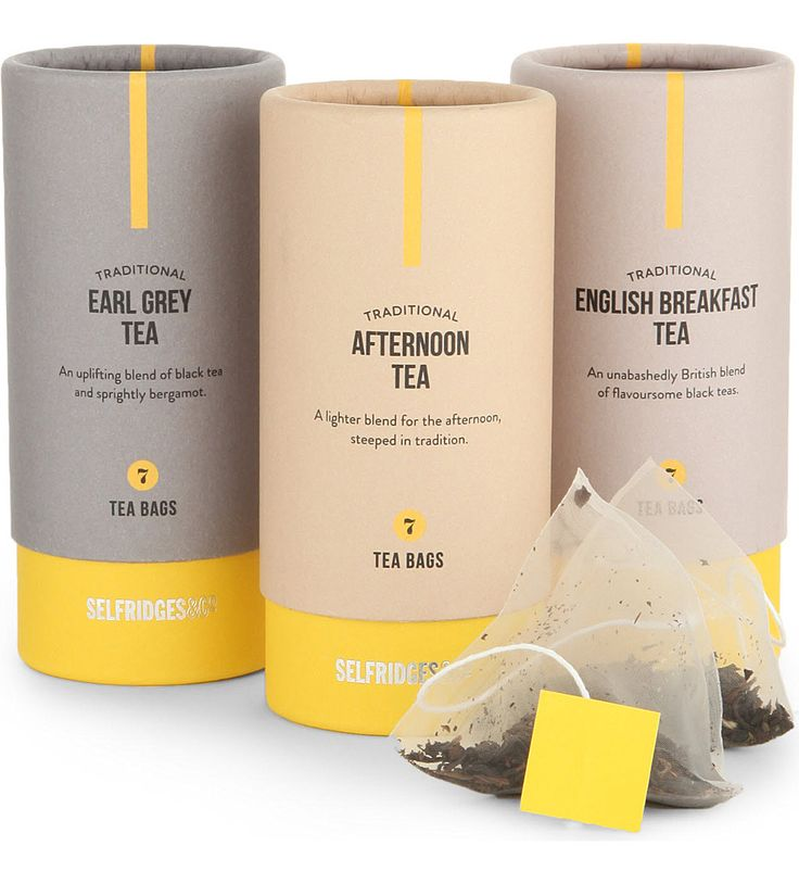 Selfridges selection traditional tea trio collection