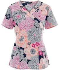 New Print Scrubs and Women's Print Scrub Tops at Uniform Advantage