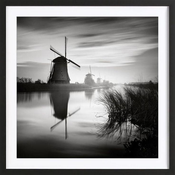 Kinderdijk as Framed Poster by Håggard Photography | Ronny Behnert | JUNIQE