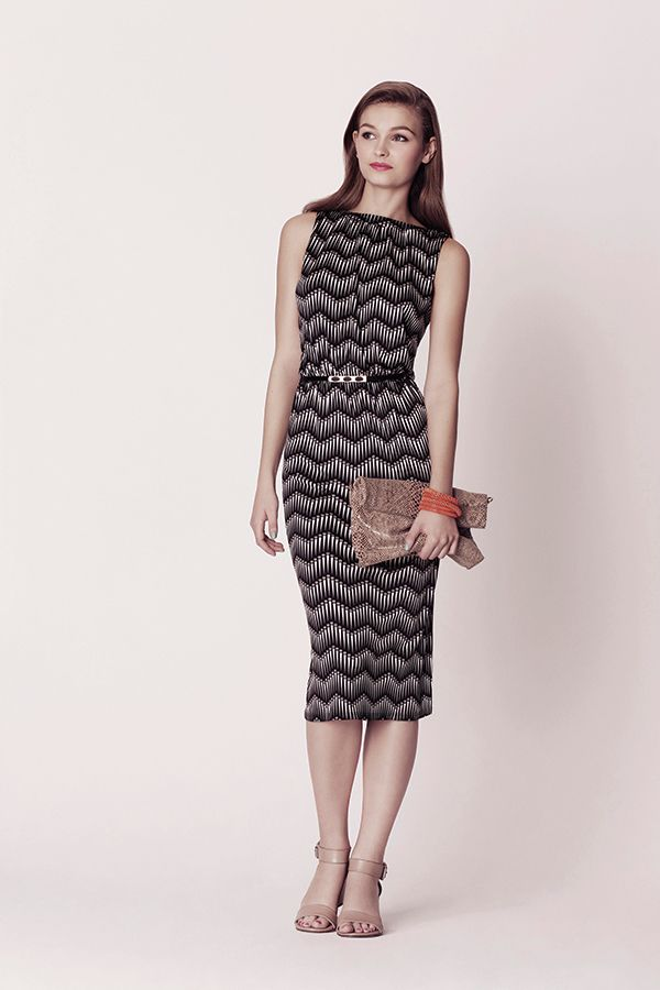 The Oasis Mono Midi Dress. £45. Available mid April.