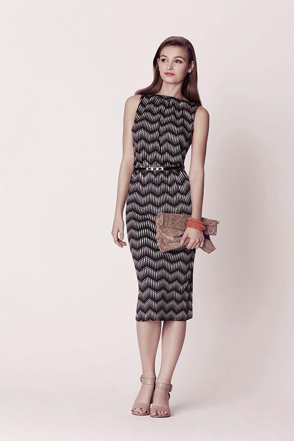 The Oasis Mono Midi Dress. £45. Available mid April.