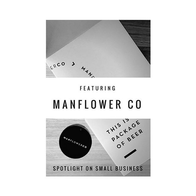 Spotlight on Small Business featuring Manflower Co | Based in Melbourne and built on the foundation of some of our favourite things – craft brews, relationship goals, and eliminating the need to change out of track pants – they've had us hoping a package of beer shows up on our welcome mat ever since.