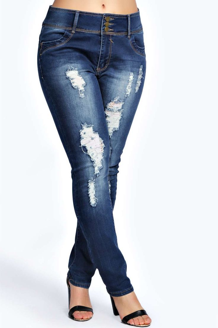 210 best Plus Size High Waisted Jeans images on Pinterest | High ...