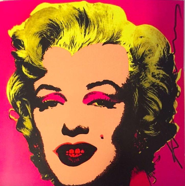 Warhol Marilyn Invitation