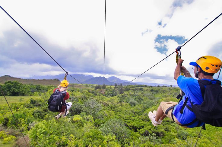 Zipline adventures let you see Kauai from a whole new perspective!