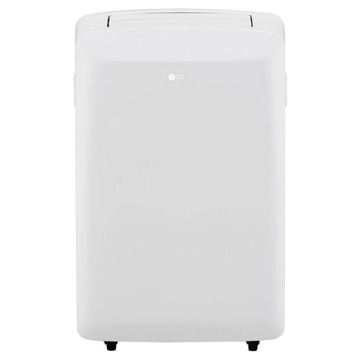 LG - 8000-Btu Portable Air Conditioner, White