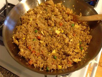 Kiss My Apron: Homemade Fried Rice - just like the hibachi restaurants.