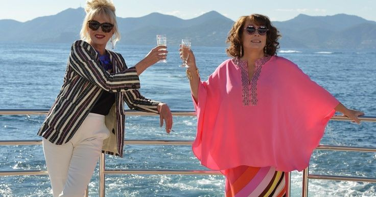 'Absolutely Fabulous: The Movie' Trailer Reunites Edina and Patsy -- Jennifer Saunders and Joanna Lumley return as Edina and Patsy in 'Absolutely Fabulous: The Movie', in theaters this July. -- http://movieweb.com/absolutely-fabulous-movie-trailer/