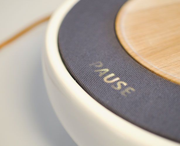 Ceramic Stereo Concept Features Invisble Markings and Helps Technology to Become In-Tune with People and Environment | Tuvie