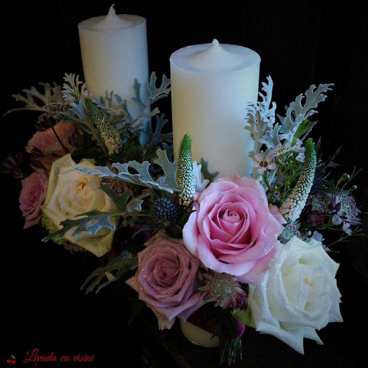 #lumanari #nunta #lumanarinunta #wedding #flowers #shesaidyes #sayitwithflowers #livadacuvisini #paulamoldovan #events #roses ##gardenroses #davidaustin #davidaustinroses #ohara #white #scent #scentofawoman #dustymiller  #veronica #pastel