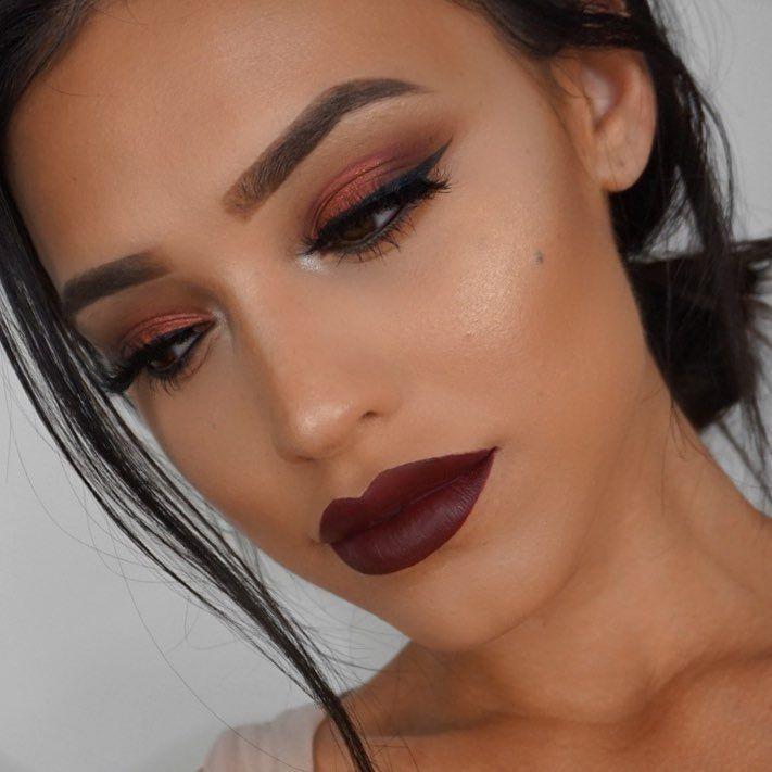 Huda beauty rose gold eyeshadow palette #makeup #beauty #ad