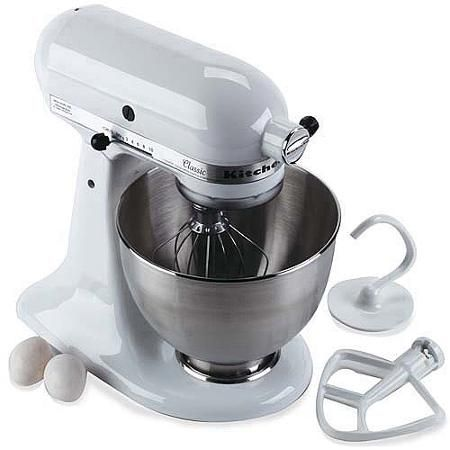 KitchenAid Classic 4.5-Qt Stand Mixer, K45SS - Walmart.com prefer black or red http://www.walmart.com/ip/Hamilton-Beach-5-Quart-Portable-Slow-Cooker/15229926