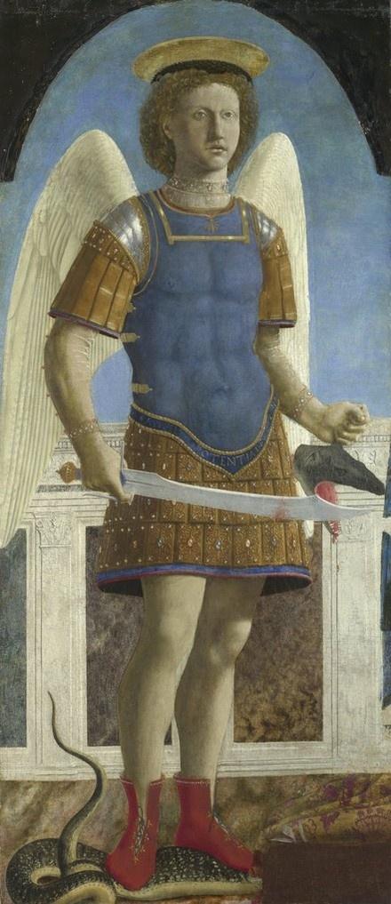 Saint Michael (circa 1469)  Piero della Francesca