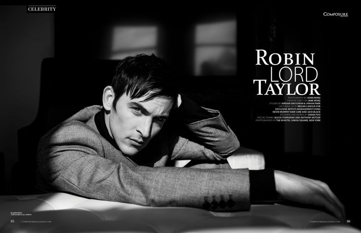 Robin Lord Taylor - Composure Magazine