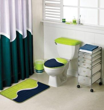 Cortina de Baño Citrón #intimahogarmx #baño #decoración #ideas