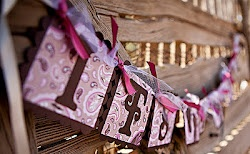 Paisley Cowgirl Baby Shower Banner