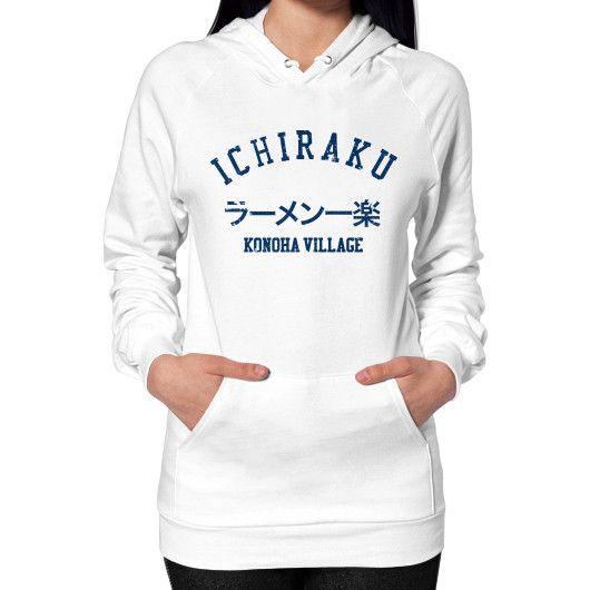 Ichiraku ramen Hoodie (on woman)