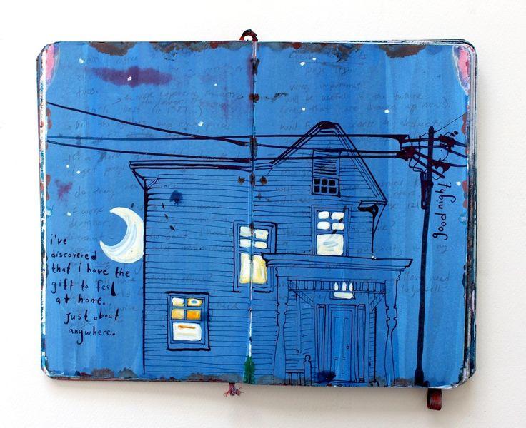 Missy H. Dunaway — Nine years of painting in a sketchbook