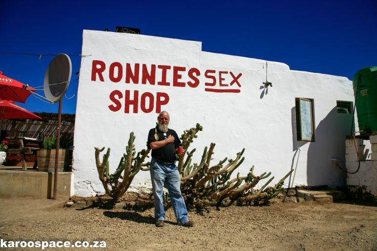 Ronnie of Ronnie's Sex Shop