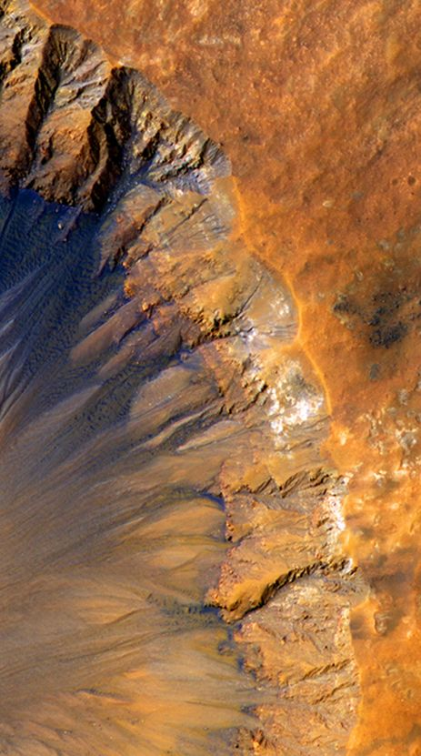New Crater spotted on Mars | Jun 2015