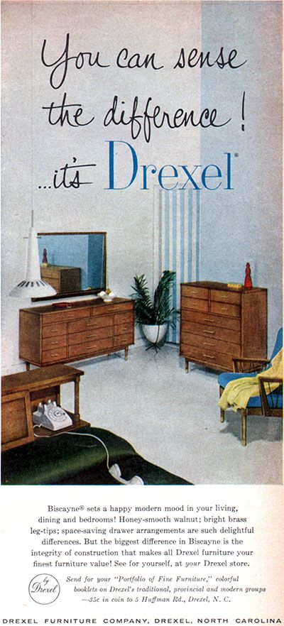 Modern Furniture Ads 26 best mid-century modern drexel images on pinterest | vintage