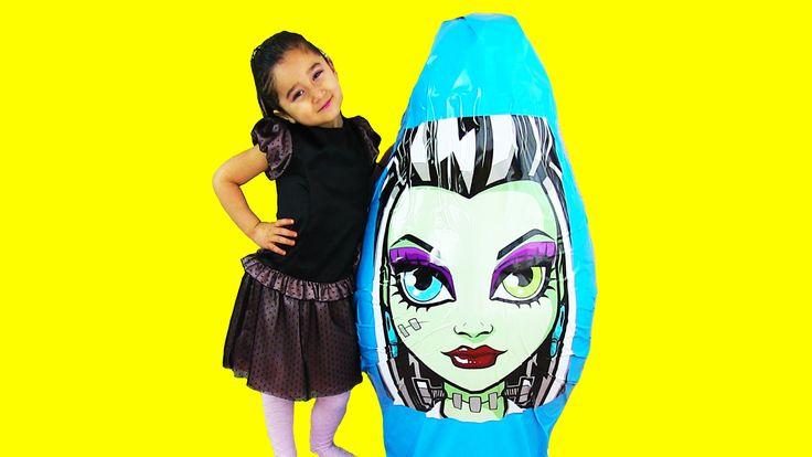 Monster High KOCAMAN Dev Sürpriz Yumurta Açma Ever After High Oyuncaklar...