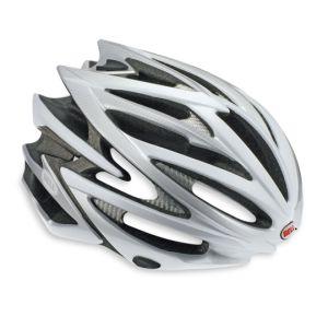 Bell Volt Helmet Silver/White