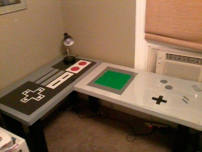 Mesa de escritorio Nintendo