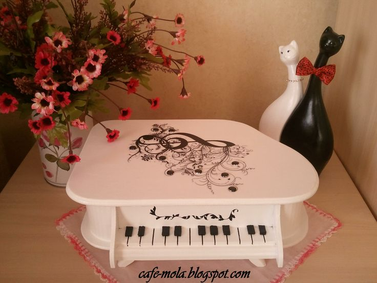 piano - decoupage