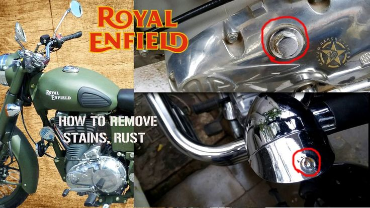 ROYAL ENFIELD  RUST AND STAIN REMOVING