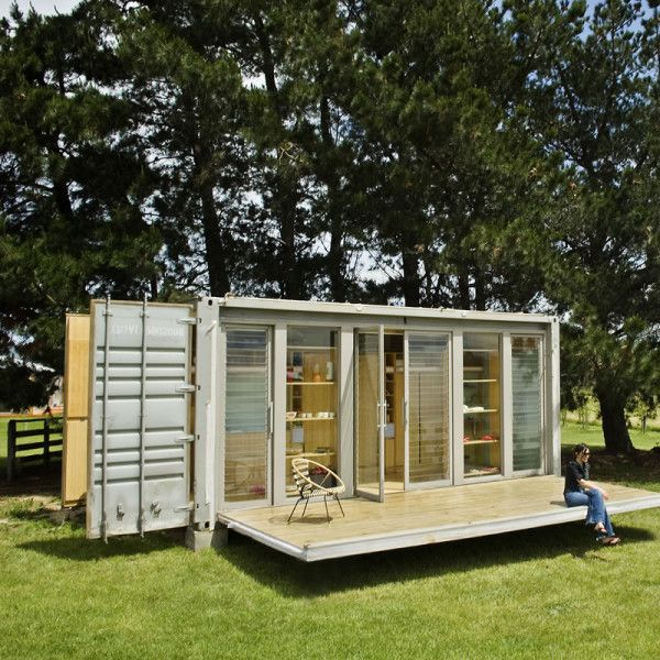 Http Www Tinyhouseliving Com A Transforming Shipping Container House Living Spaces Pinterest Shipping Container Houses House And Tiny Houses