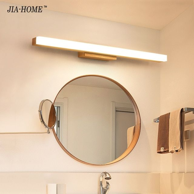 Led Wall Lamp Minimalism Mirror Front