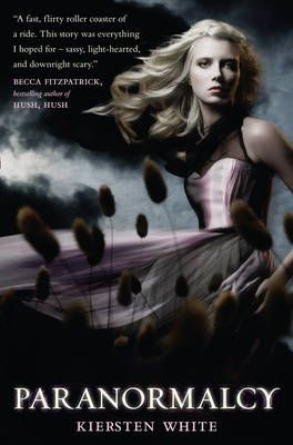 Paranormalcy - Kiersten White  Delve into this bewitching series