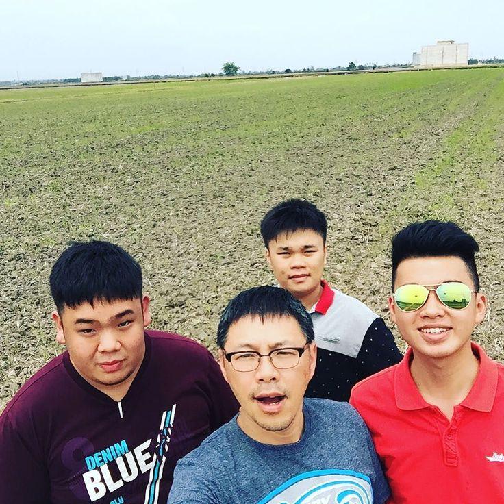 我们到了鱼米之乡#sekinchan #大叔与三剑客