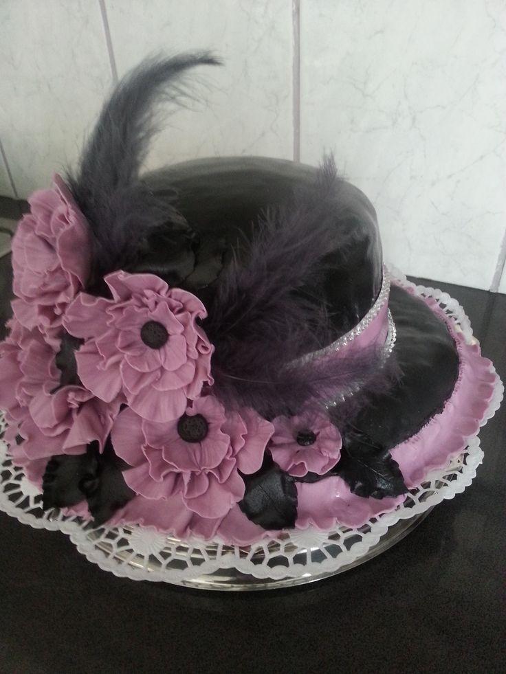 dames hoed taart