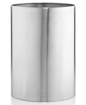 Closeout! Hotel Collection Hotel Modern Brushed Stainless Steel Trash Can, Only at Macy's