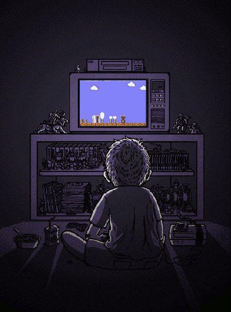 Awesome Nostalgic Nintendo GIF - http://sometimesthingshappen.com/dang/awesome-nostalgic-nintendo-gif/