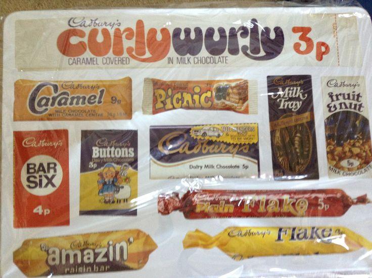Cadbury's chocolate ' 70's
