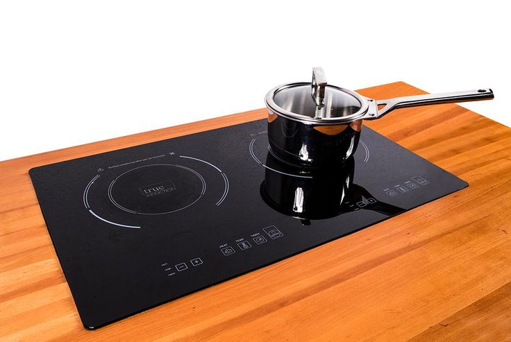Amazon.com: True Induction S2F3 Counter Inset Double Burner Induction Cooktop, 120V, Black: Industrial & Scientific