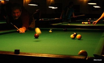 Pool Night at Dooly's