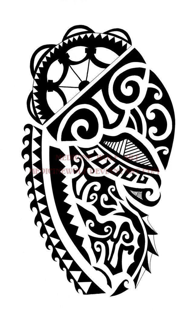 mod le pour tatouage maori paule tribal tribal. Black Bedroom Furniture Sets. Home Design Ideas