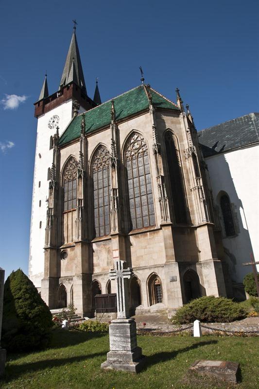 Slovakia, Spišský Štvrtok - Church of St. Ladislav