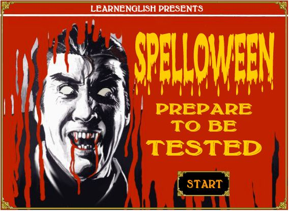 spelloween a halloween themed spelling game from learnenglish activities and games 3 17. Black Bedroom Furniture Sets. Home Design Ideas