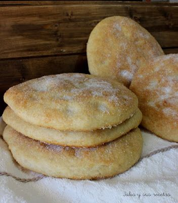 JULIA Y SUS RECETAS: Tortas de manteca manchegas