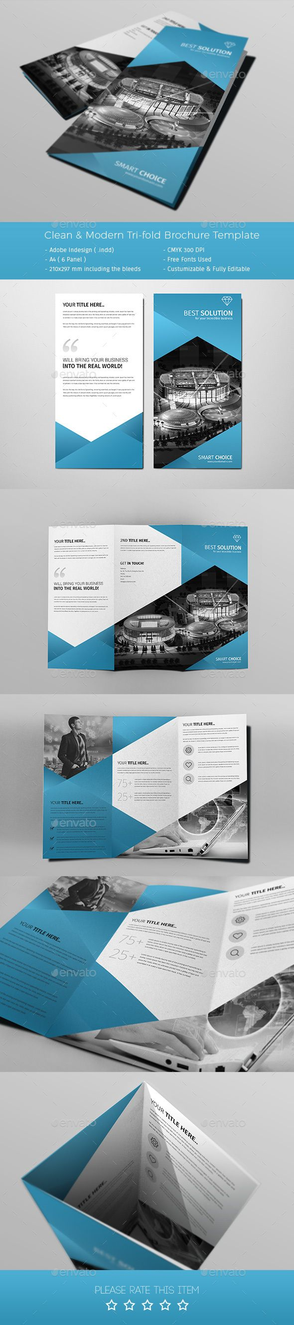 A4 Corporate Business Brochure Template PSD. Download here: https://graphicriver.net/item/a4-corporate-business-template-vol-06/17391911?ref=ksioks