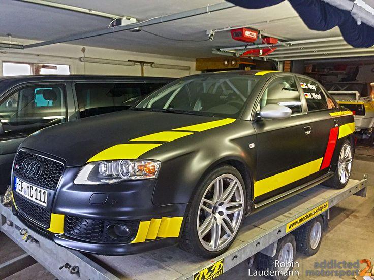 RS4Rallye Alexy/Wetzel setzen auf Audi RS4 RS4Rallye
