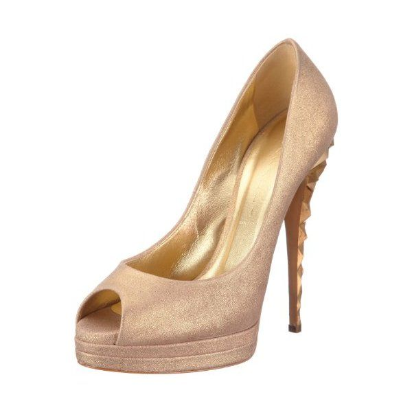 SeguiPrezzi.it - Casadei 1051G102.DC8VENU816, Scarpe con tacco donna, Oro (Gold (GOLD)), 38.5 - Prezzo: EUR 226.51 (64% di sconto)
