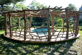Backyard water park gardening-ideas