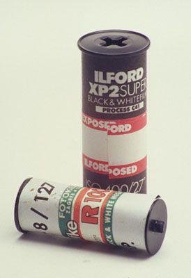 Ilford XP2 Super 120 and Efke R100 127