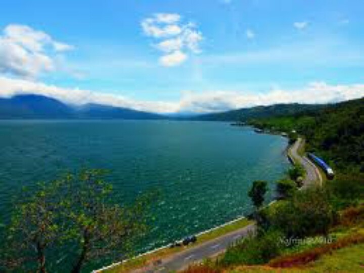 Lake Singkarak, West Sumatera